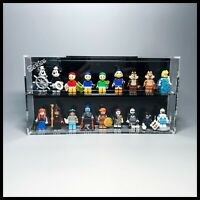 Acrylic Display Case for LEGO series 2 Disney mini figures
