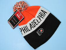 Hockey Philadelphia Flyers Pom Knit Hat REEBOK NHL Hat Flyers Hockey Apparel NWT