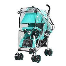 Universal Rain Cover for Pushchair Pram Baby Stroller Wind Weather Shield UK