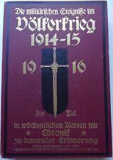 Die militärischen ereignisse im völkerkrieg 1914-15, 1916 (cartes militaires)