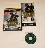 Medal of Honor: Frontline Player's Choice Nintendo GameCube COMPLETE NICE DISC