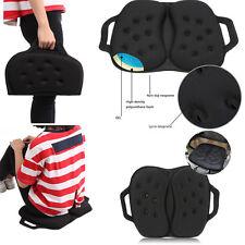 Portable Gel Seat Cushion Pad Office Chair Wheelchair Car Protector Cover Mat h1