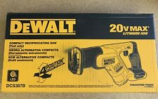 DeWALT DCS387B 20V Max* Cordless Compact Reciprocating Saw (Tool Only)