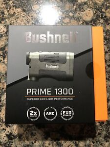 Bushnell Prime 1300 6x24mm Digital Laser Rangefinder, Black - LP1300SBL $220 MSR