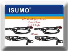 Set 4 x ABS Wheel Speed Sensor Front-Rear Left  & Right  Fits: C250 C300 C350