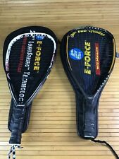 "E-Force Lethal 160 And Head Tap Out Raquetball Raquet  22"" longstring Lot Of 2"