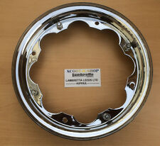 LAMBRETTA CHROME STANDARD WHEEL RIM 350 X 10 - NEW