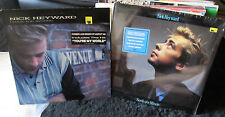 2 lp lot nick heyward SEALED north of a miracle i love you avenue haircut 100 PR