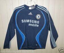 ADIDAS  Long Sleeve Blue Samsung Mobil Shirt Jersey Men's Large