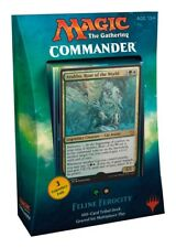 MTG Commander 2017 Feline Ferocity Deck (English) *Brand New*  *Free Shipping*