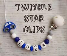 sucette clip Minnie Mouse Personnalisé Dummy Clip anneau de dentition Clip gravé