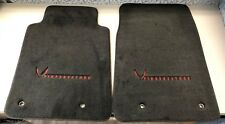 2010-2015 Chevrolet Camaro FIREBREATHER Frt Premium Carpet Black Floor Mats NEW