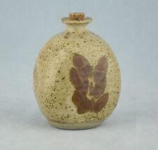 """BELLA!!! Cooper STUDIO POTTERY bottiglia con tappo di sughero """"FARFALLE"""" 12.5 cm"""