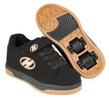 Chaussures de tennis noires en cuir pour fille de 2 à 16 ans