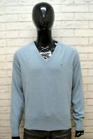 AVIREX Maglione Uomo in Cashmere Pullover Maglia Felpa Sweater Man Taglia XL