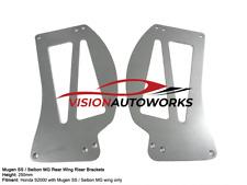 Mugen SS / Seibon MG 250mm wing riser bracket spoiler Honda S2000 S2K AP1 AP2