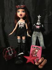 Bratz Treasures Roxxi Doll (All Accessories & Sticker)(Perfect Condition)