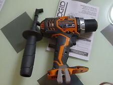 New Ridgid R86008 18 volt X4 Hyper Lithium Drill Driver use 18v R840083 R84008