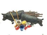 Q13) Schleich Bauernhof Set von Kuh bis Zaun Schleichtier Schleichtiere