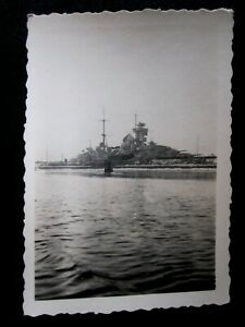 """Original Foto Schlachtschiff """" PRINZ EUGEN """" Marine  WK2"""