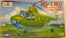 Amodel 1/72 Mi1MU Soviet Army Helicopter W/ Falanga Missiles Model Kit 7250
