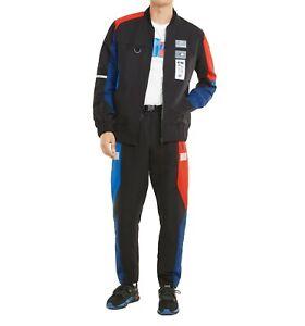 New PUMA Brand BMW M Motorsport Street Men's Motorsport Jacket + Matching Pants