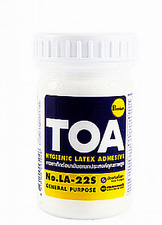 TOA Latex Hygienic Adhesive Glue General Paper Wallpaper Wood4 Oz  Free Shipping