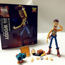 """6"""" Toy Story Woody Action Figure Kaiyodo Revoltech 010 Collectible Toy Xmas Gift"""