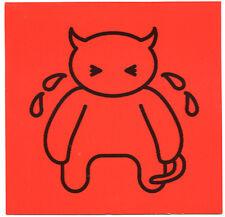 Radiohead promo Card Amnesiac 2001 - 5 x 5 inch