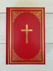 Douay-Rheims Catholic Bible Hardback Red 1914 Reprint