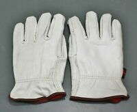 MCR Safety Cowhide Cold Weather Winter Large Leather Fleece Driver Gloves 3250L