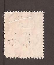 """GB George V, con Perfin """"e P S""""? 2 X Escanea"""