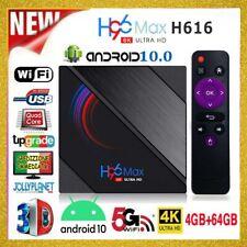 H96 MAX 6K Smart TV Box 4GB 64GB ANDROID 10.0 ALLWINNER H616 4K WiFi Quad-Core