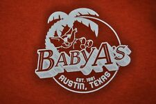 T-SHIRT S SMALL BABY A'S BABY ALCAPULCO SINCE 1981 AUSTIN TEXAS ATX SHIRT