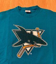 San Jose Sharks Vintage Logo Promo T-Shirt Size Men's XL