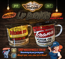 LIP BURNERS TWIN PACK cool metal mugs from House of Muscle
