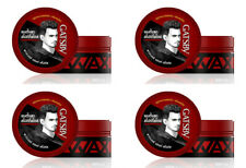4 x GATSBY Hair Styling Wax Power and Spikes From JAPAN 75 g.