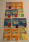 Lot Of (12) Fla-Vor-Aid Drink Mix Packets Different Flavors NOS Full Unopened