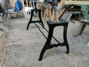 Industrial Machine Stand Table Base Cast Iron
