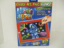 AS SEEN ON TV MAGIC PAD - LIGHT UP DRAWING PAD - 8 LIGHT EFFECTS AP 3982