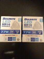 Bulbrite Industries 7.7W MR16 LED Light Bulb BUT2815