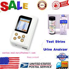 USA Portable Urine Analyzer,11-paras Urine test,100pcs Test strip,USB+Bluetooth