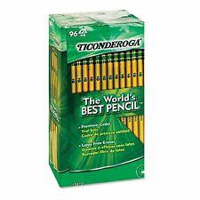 Ticonderoga 96 ct Woodcase Pencils Hb #2 Yellow Barrel w/ Eraser - School Supply
