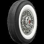 """670-15 Firestone 2 11/16"""" Inch Whitewall Bias Tire *Save On Set Of 4!*"""