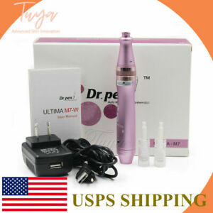 Rechargeable Electric Derma Pen Stamp ULTIMA M7-W Dr.Pen Micro Needle Anti-Aging