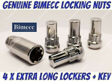 Alloy Wheel Locking Nuts Bimecc Long M14x1.5 Ford transit Custom Sport 2013>