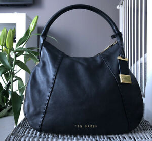 Lovely Genuine Ted Baker Shoulder bag black leather Handbag