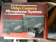 FM  Wireless Video Camera microphone system