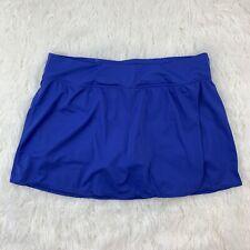 kim rogers curvy womens size 16W skort stretchy blue