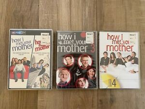 How I Met Your Mother DVD LOT Complete Seasons 1- 4 NEIL PATRICK HARRIS mn1871